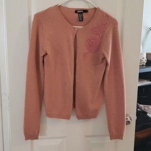DKNY Very Soft Wool Cardigan